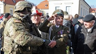 Download US Troops Arrive In Poland; Russia Sees It As An Act of Aggression (REACTION) Video