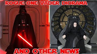 Download 1/6 ROGUE ONE Vader Diorama and other news! Video