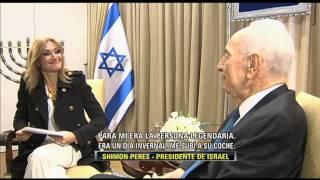 Download LA ENTREVISTA POR ADELA 28 NOVIEMBRE 2013 SIMON PERES PRESIDENTE DE ISRAEL Video