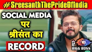 Download Sreesanth CREATES RECORD On Social Media | Bigg Boss 12 | #SreesanthThePrideOfIndia Video