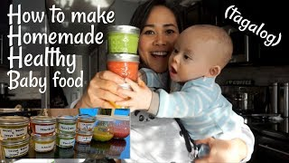 Download How to make baby food at home (TAGALOG) Video