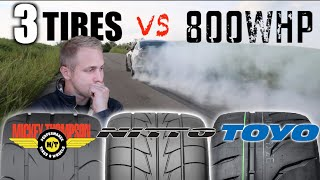 Download Whats the Best Street Tire for traction 600hp - 900hp TEST Video