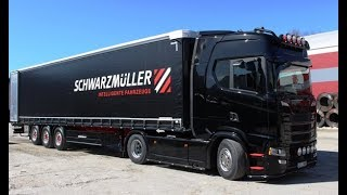 Download Maris and his Scania S450 (RU/ENG subs) Video