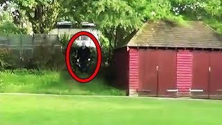 Download 12 Scariest Slender Man Sightings Caught on Tape Video