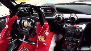 Download VETTEL Driving Hypercar FERRARI FXXK Video