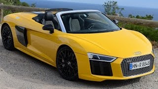Download 2018 Audi R8 Spyder Review-SOUNDS SO GOOD! Video