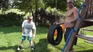 Download Baseball Tire Batting Drill with The PRObliners! Video