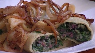 Download Swabian Maultaschen German everyday cooking Video Recipe littleGasthaus Video