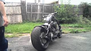Download One of a Kind - NJCustom bobber / chopper w/ 1800cc . Check description for more info Video