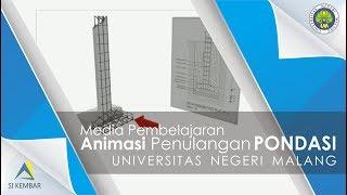 Download Media Pembelajaran Penulangan Pondasi Beton Animasi 3d (Universitas Negeri Malang) Video