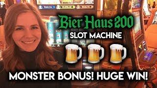 Download Bier Haus 200 MONSTER Bonus! BIG WIN!!! Video