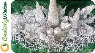 Download Aluminum FOIL Christmas Decoration Video