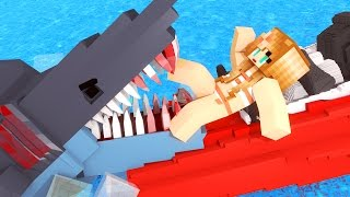 Download Jaws Movie - The First Shark Attack! (Minecraft Roleplay) #1 Video