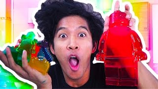 Download GIANT LEGO ULTRA GUMMY RAINBOW SET!!! Video