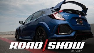 Download 2017 Honda Civic Type R defies the physics of front-wheel drive Video