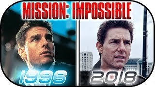 Download EVOLUTION of MISSION IMPOSSIBLE movies (1996-2018) Tom Cruise History, Then and now. Ethan Hunt Video