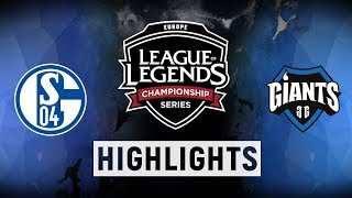 Download S04 vs. GIA - EU LCS Week 8 Day 2 Match Highlights (Summer 2018) Video