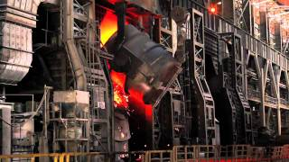 Download isdemir demir - çelik fabrika, iron - steel factory Video