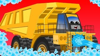 Download Dump truck | car wash | educational video for kids Video
