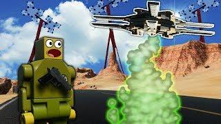 Download LEGO ALIEN CREATURES INVADE DESERT! - Brick Rigs Roleplay Gameplay - Alien Invasion Survival Video
