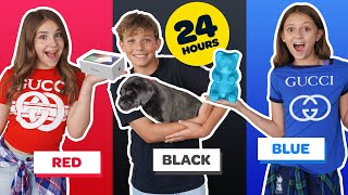 Download BUYING Anything In ONE COLOR For 24 Hours CHALLENGE! **NEW iPhone 11**📱🥰 | Piper Rockelle Video