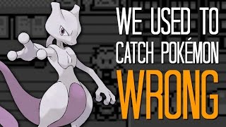 Download We used to catch Pokémon wrong - Here's A Thing Video