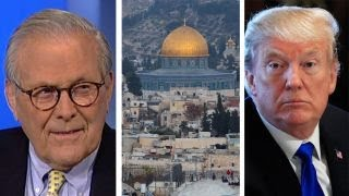 Download Donald Rumsfeld on the impact of Trump's Israel decision Video