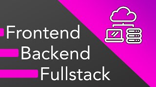 Download Frontend vs Backend vs Fullstack Web Development - What should you learn? Video
