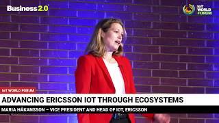 Download IoT Ecosystems - Maria Håkansson ERICSSON - #IoT WORLD FORUM Video
