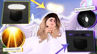 Download How to get GLORIOUS LIGHT & MYSTERIOUS DARKNESS badges! RAREST ROYALE HIGH ITEMS! Video