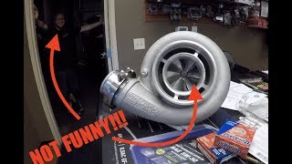 Download They messed with MY 88mm Billet TURBO!!! NOT FUNNY Video