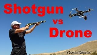 Download Shotgun vs Drone Airframe - UAV Torture Test by Aerial Sports League Video