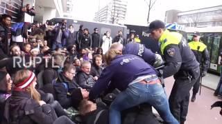 Download Netherlands: Dozens arrested for protesting Black Pete festivities Video