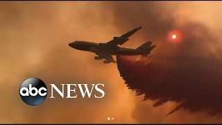 Download Fire grows to largest in California history | ABC News Video