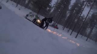 Download Arctic Rally 2017 Al-Rajhi crash Video