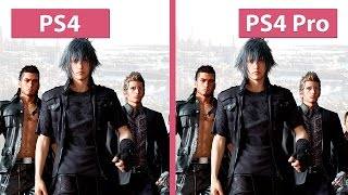 Download Final Fantasy XV – PS4 vs. PS4 Pro 1080p HIGH Mode Graphics Comparison Video