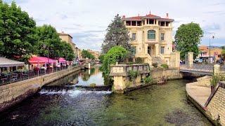 Download [4K] L'Isle-sur-la-Sorgue - the Town of Water, France, Provence (videoturysta.eu) Video