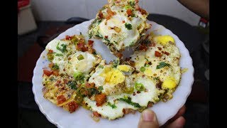 Download Tawa Omelette Recipe By AAmna's Kitchen Video