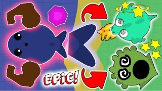 Download TOP 5 EPIC KILLS IN MOPE.IO EVER #3! BLUE WHALE TROLLING ONLY KRAKENS AND DRAGONS! (Mope.io) Video