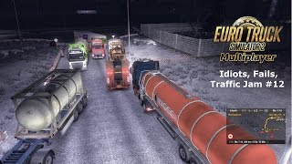 Download ETS 2 - Multiplayer [Winter] | Idiots, Fails, Traffic Jam,..pilation #12 + Video (TurtleSpice) Video