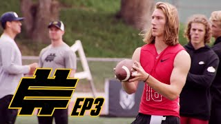 Download Top QB Prospects Compete in 7-On-7 to Make Final Case for a Spot on the Elite 11 | NFL Network Video