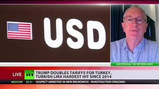 Download Steely Relations: Trump doubles steel & aluminum tariffs on Turkey Video