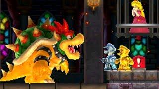 Download Gold Mario & Silver Luigi Vs. Bowser (Final Castle) - New Super Mario Bros. 2 Video