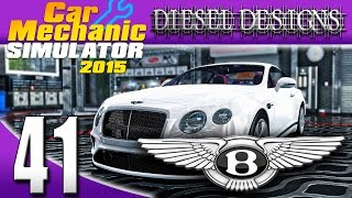 Download Car Mechanic Simulator 2015: EP41: Bentley DLC! Bentley Continental GT! 1300HP! (60FPS) Video