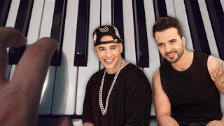Download Despacito / Luis Fonsi ft Daddy Yankee / Piano Tutorial / Notas Musicales / Cover Video