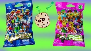 Download Playmobil Blind Bag Opening Series 4 Mystery Surprise Packs Girls Boys Collection Set toy Review Video
