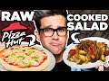 Download Raw Cooked Food vs. Cooked Raw Food Taste Test Video