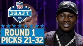 Download Picks 21-32: Star WRs Cousin, Team Trades Back into 1st Round & More | 2019 NFL Draft Video