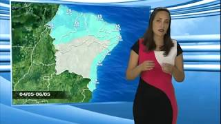 Download Previsão do Tempo 23/4/2018 - Norte/Nordeste Video