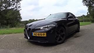 Download Alfa Romeo Giulia 2.0T 200PK Review - Dutch4wheels Video